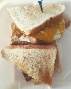 Lukulo's Breakfast Sandwich
