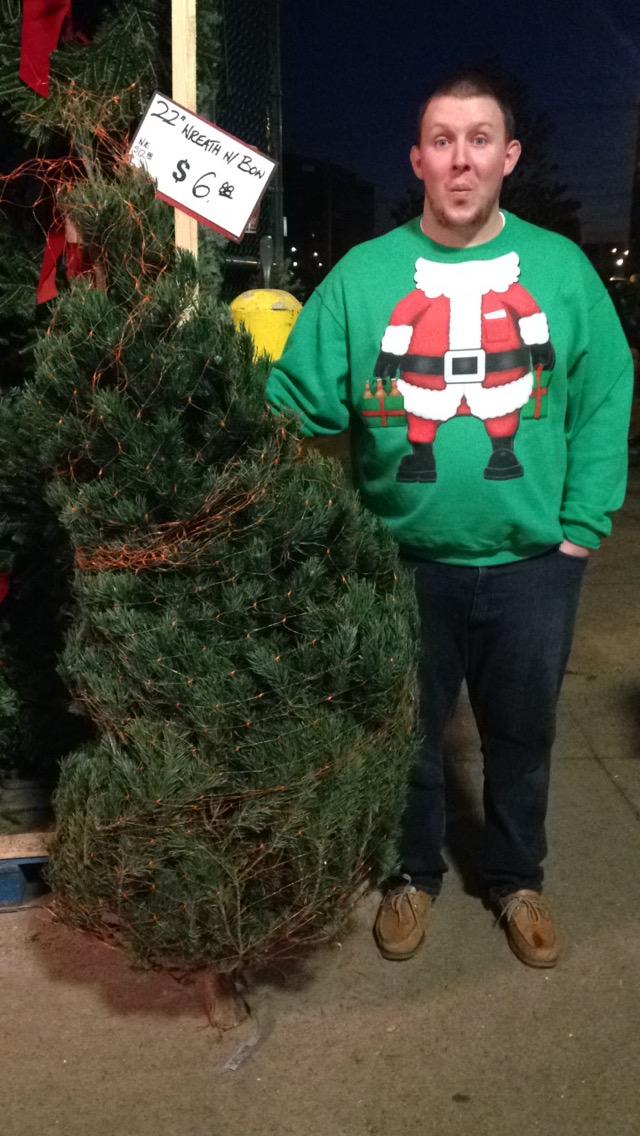 Oh Christmas tree, Oh Christmas tree!