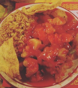 Sweet and Sour Chicken - Yen Ching