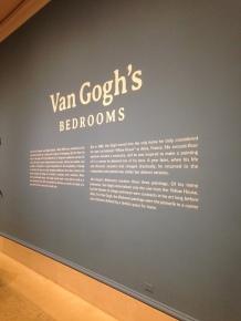 Van Gogh's Bedrooms - Art Institute of Chicago