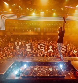Steve Aoki at JEWEL Nightclub at the ARIA Resort and Casino