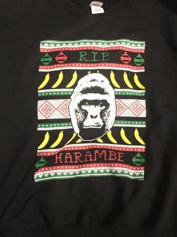 Harambe Christmas Sweater